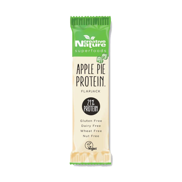 Apple Pie Protein Flapjack Creative Nature Superfoods
