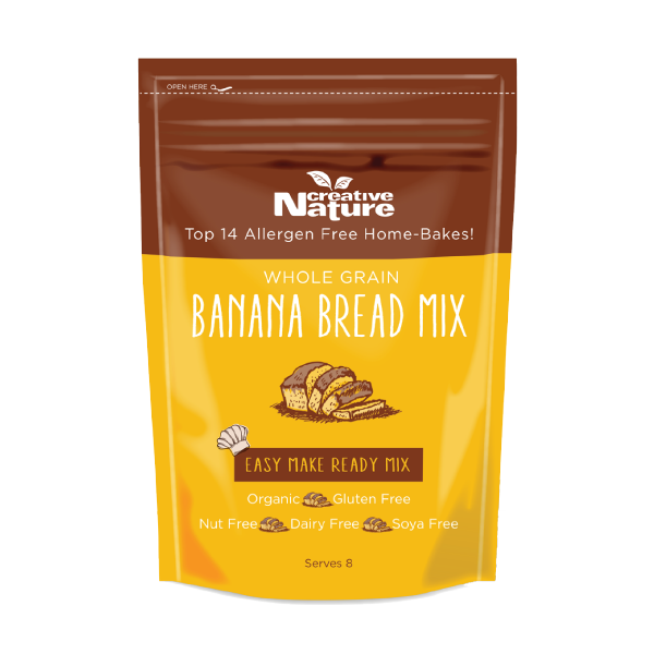 Banana Bread Baking Mix Creative Nature Superfoods