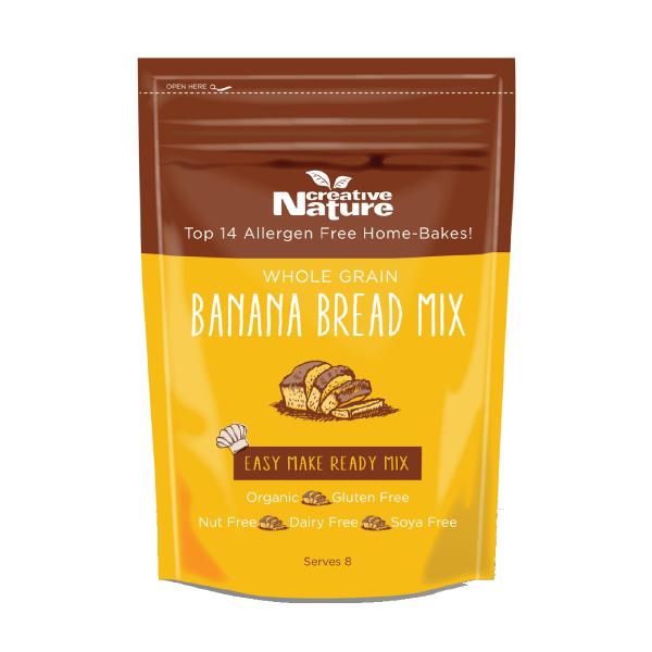 Banana Bread Baking Mix Creative Nature Superfoods