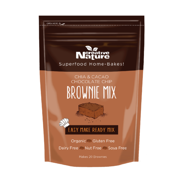 Chia Cacao Brownie Baking Mix Creative Nature Superfoods