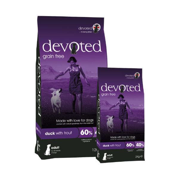 Duck Adult Dog Food Devoted