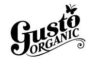 Gusto Organic Logo