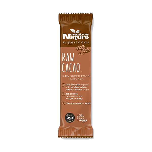 Raw Cacao Flapjack Creative Nature Superfoods