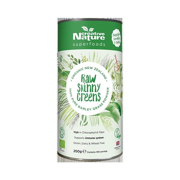 Raw Skinny Greens Creative Nature Superfoods