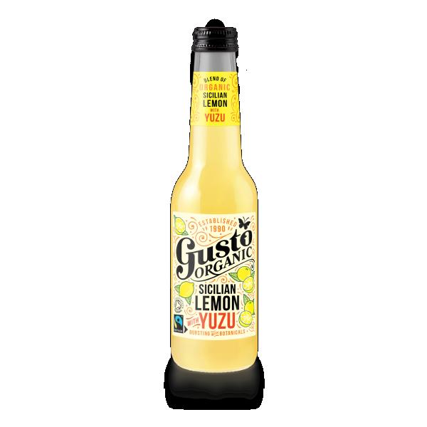 Sicilian Lemon Yuzu Drink Gusto Organic