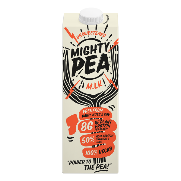 Mightypea Unsweetened Sml